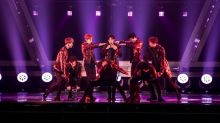 Korean boy group EXO returns to Singapore for Skechers dance competition