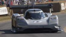 Volkswagen I.D. R sets Goodwood EV record