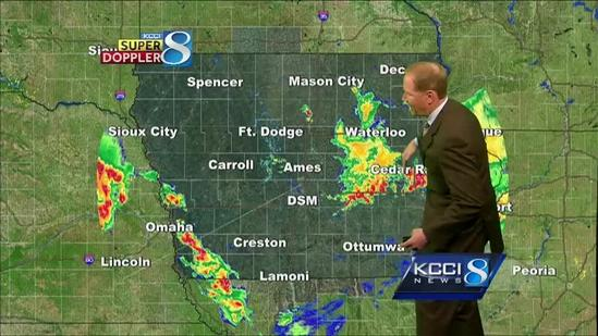 Video-Cast: More storms ahead