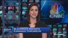 BlackRock reports earnings tomorrow