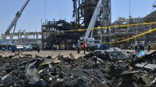 Riad mostra danos dos ataques a instalações petrolíferas