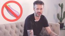 MasterChef judge Jock shocks fans with bizarre eggplant ad