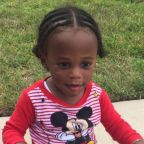 Toddler abandoned outside a Houston home