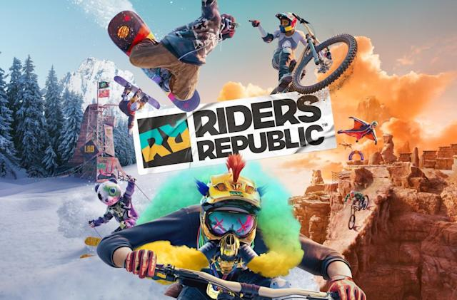 'Riders Republic' is an extreme sports MMO from the studio behind 'Steep'