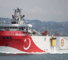 Greece says no talks with Turkey as long as survey ship in area