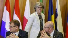 EU leaders back May with first step to Brexit trade talks