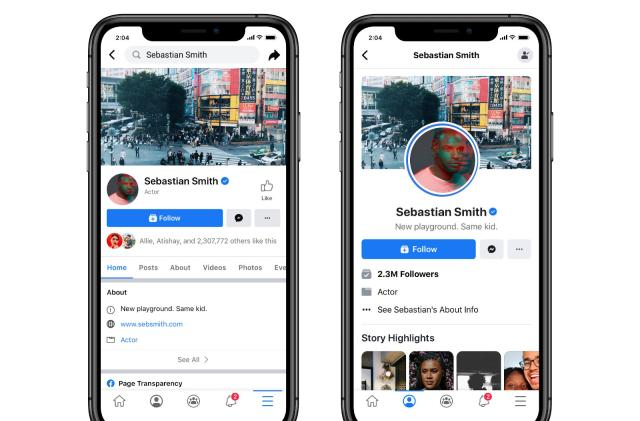 Facebook tests new Pages that feel more like Instagram and Twitter