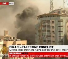 'Shocked and Horrified': Israeli Airstrike Destroys AP, Al Jazeera Offices on Live TV