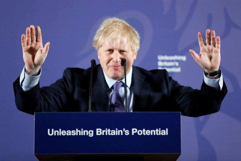 British Prime Minister Boris Johnson says the word 'Brexit' has not been banned
