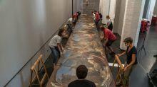Venezia, all'Accademia torna il Castigo dei serpenti di Tiepolo