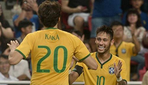 International: Kaka: Neymar wird den Ballon d'Or gewinnen