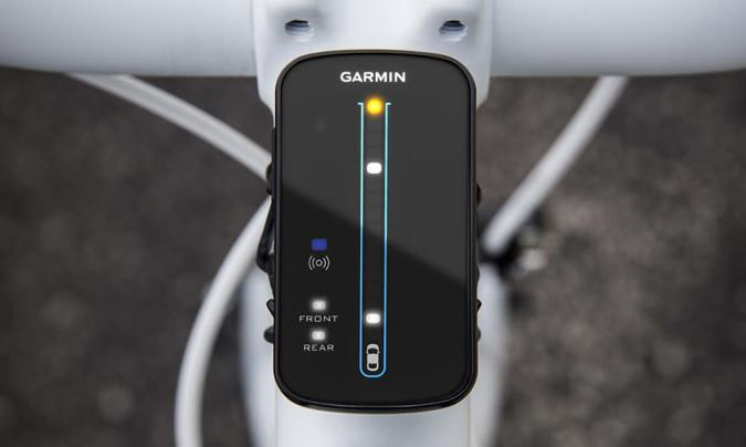 Garmin's Varia radar warns cyclists about traffic they can't see