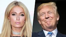 Paris Hilton sale en defensa de Donald Trump