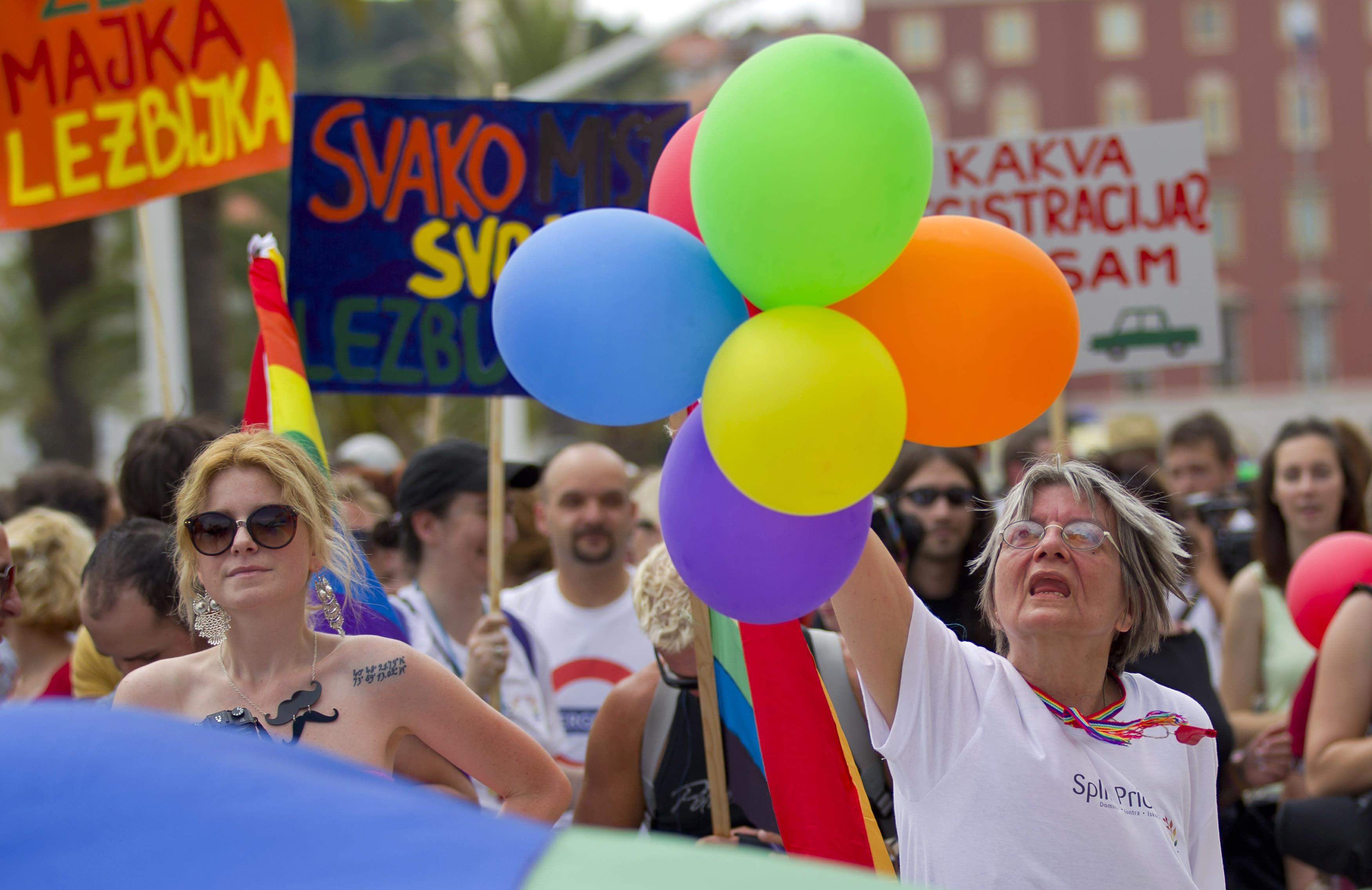 Croatia Registers First Gay Life Partners
