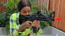 Ludmilla vai interpretar policial militar na segunda temporada de 'Arcanjo Renegado'