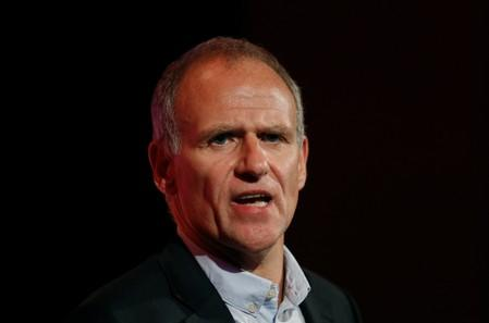 Dave Lewis, Tesco CEO, speaks at the the British Chamber of Commerce annual conference in London