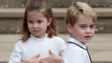 Prince George, Princess Charlotte are #WeddingPartyGoals at Princess Eugenie's ceremony