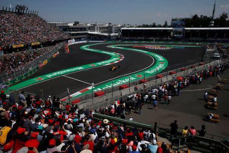 FILE PHOTO - Mexican Grand Prix 2017