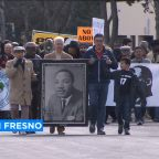 Valley residents celebrate Martin Luther King Day with march in downtown Fresno