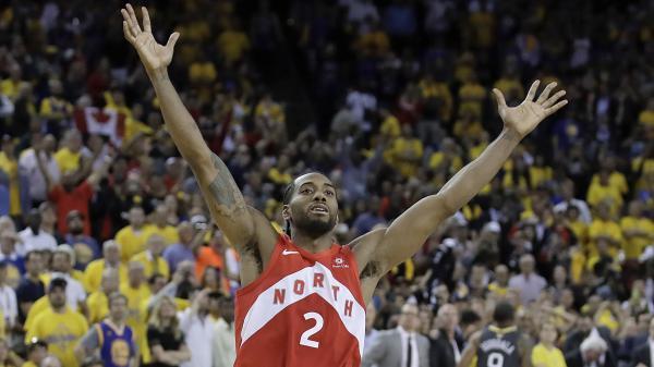 NBA title odds shift after Clippers nab Kawhi Leonard, Paul