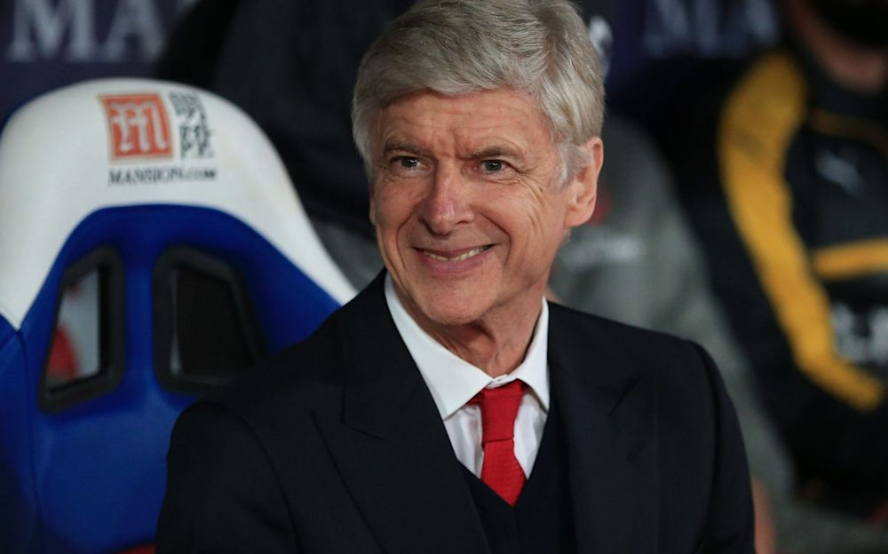Wenger will undoubtedly be asked once more about his Arsenal future - Rex Features