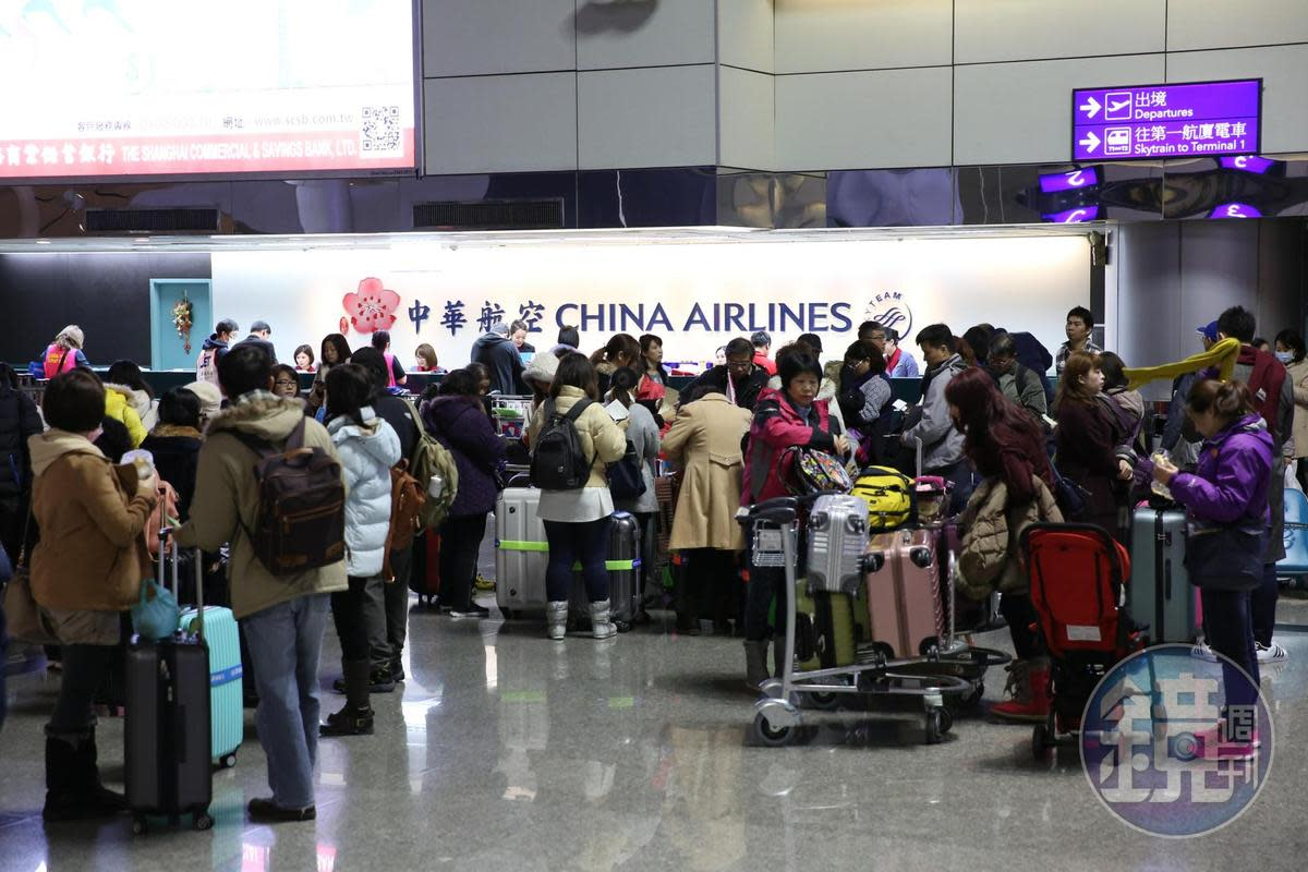 針對罷工事件,華航回應表示,若罷工持續下去,乘客雖能平安抵達目的地,但公司損失必然擴大。