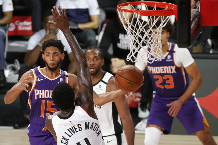 JaMychal Green provides a boost: Five takeaways from Clippers' loss to Suns
