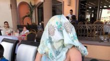 This breastfeeding mum who was told to 'cover up' at a restaurant had a hilarious response