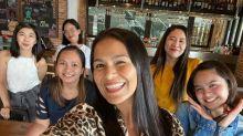 Iza Calzado reunites with her COVID-19 nurses