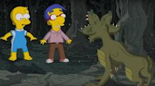 La parodia de 'Stranger Things' en el especial de Halloween de 'Los Simpson'