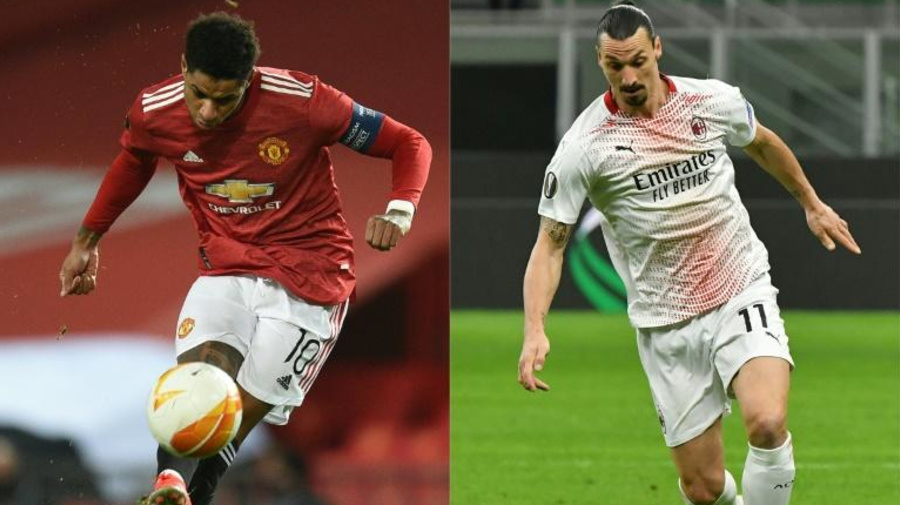 Manchester United-Milan é o duelo de destaque das oitavas da Liga Europa
