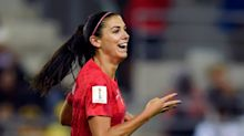 Alex Morgan is beaming and scoring goals again — and that's bad news for the USWNT's opponents