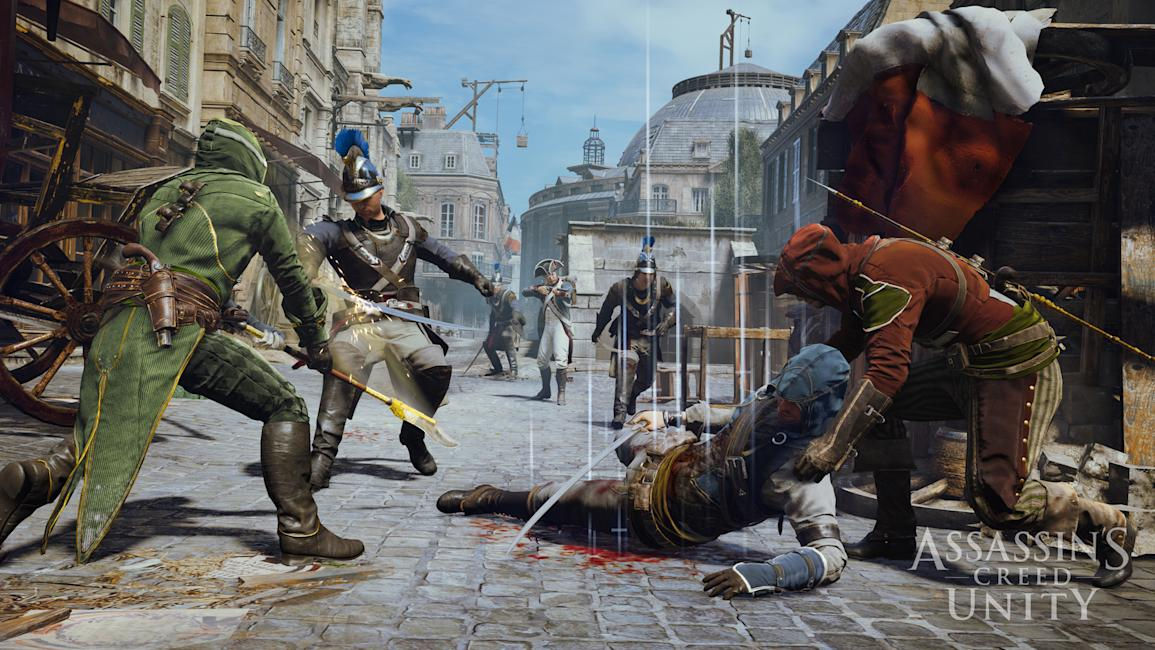 Watch An Assassin S Creed Unity Co Op Heist Mission In This