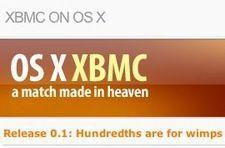 XBMC on OS X releases version .1