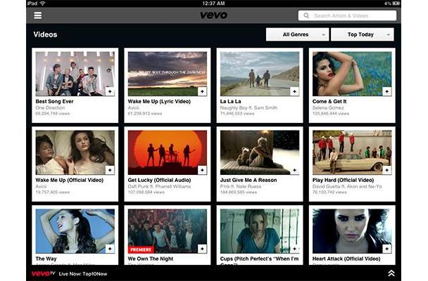 Vevo scores AirPlay video support on iOS