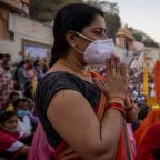 Haridwar: Crowds surging at Kumbh Mela as India overtakes Brazil in Covid cases
