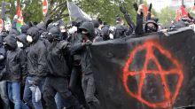 """1er mai : violents incidents en marge du cortège, 200 """"black blocs"""" interpellés"""