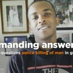 Video: Officers yelled 'gun' before shooting unarmed man