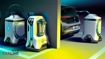 電動車找充電樁好麻煩?VW:讓充電機器人自己來找車子不就好了