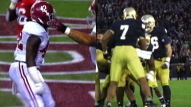 Notre Dame Vs. Alabama in College Football Championship