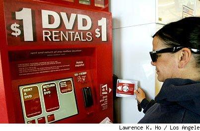 At $1 a day Redbox is perfect for consumers, not so much for Hollywood