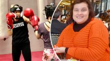 Mum, 51, starts 'crazy' hobby after epic 70kg weight loss