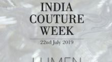 Amit Aggarwal Opens The India Couture Week 2019 Show with His Collection 'Lumen'