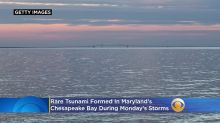 Rare Tsunami Formed In Chesapeake Bay During Monday's Storms, Forecasters Say