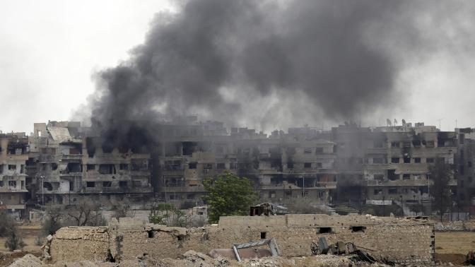 Syrie : l'organisation État islamique sur le point de perdre son dernier bastion à Damas