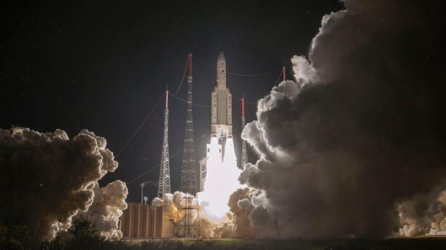 British-built spacecraft blasts off on mission to Mercury