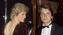 Michael J. Fox says Princess Diana made the 'Back to the Future' premiere a 'nightmare' for him