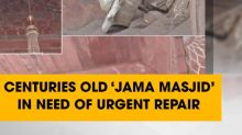 Centuries old 'Jama Masjid'in need of urgent repair