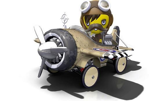 ModNation Racers (kind of) takes to the skies with 'Air Raid' DLC