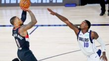 Lillard scores 61 as Blazers stride towards play-offs